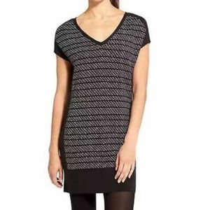 Athleta Thereafter Patterned Short Sleeve Dress